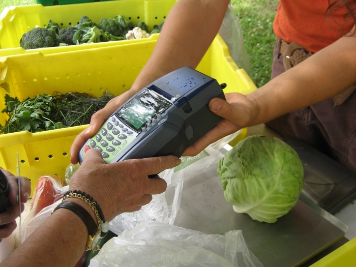 Farmers market payment options